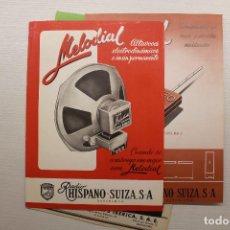 Radios antiguas: MELODIAL ALTAVOCES, CONDENSADORES, POTENCIÓMETROS, ETC. Lote 162913210