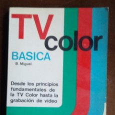 Radios antiguas: TV COLOR BASICA. Lote 163385466