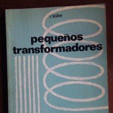 Radios antiguas: PEQUEÑOS TRANSFORMADORES.. Lote 163386498