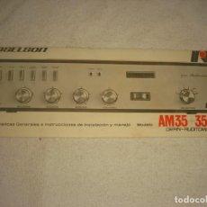 Radios antiguas: ROSELSON , MODELO AM35+35W. CATALOGO CON CARACTERISTICAS E INSTRUCCIONES. Lote 164061214