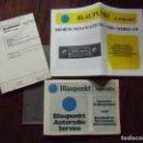 Radios antiguas: BLAUPUNKT-AUTORADIO-PARIS STEREO CR.1978.. Lote 165242522
