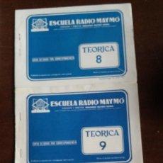 Radios antiguas: CURSO RADIO MAYMO.. Lote 165639962
