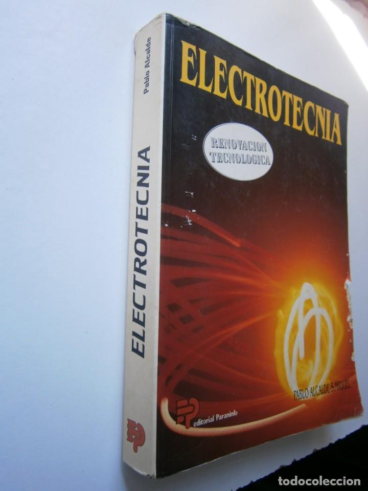 Radios antiguas: ELECTROTECNIA RENOVACION TECNOLOGICA Pablo Alcalde Miguel Paraninfo 1996 - Foto 3 - 167510980