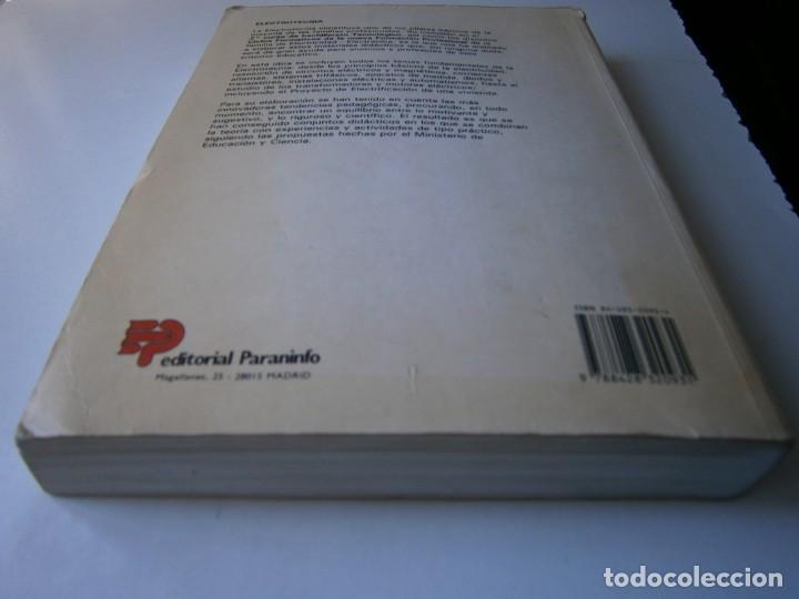 Radios antiguas: ELECTROTECNIA RENOVACION TECNOLOGICA Pablo Alcalde Miguel Paraninfo 1996 - Foto 6 - 167510980