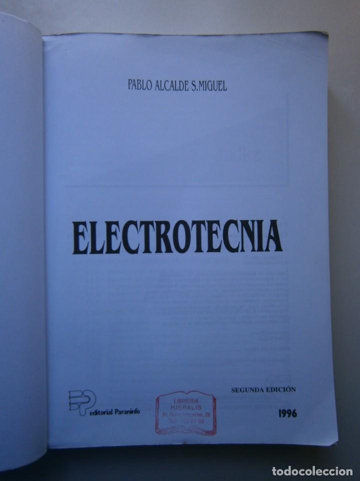 Radios antiguas: ELECTROTECNIA RENOVACION TECNOLOGICA Pablo Alcalde Miguel Paraninfo 1996 - Foto 8 - 167510980