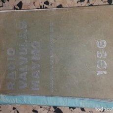 Radios antiguas: RADIO VALVULAS MAYMO 1956. Lote 167746156