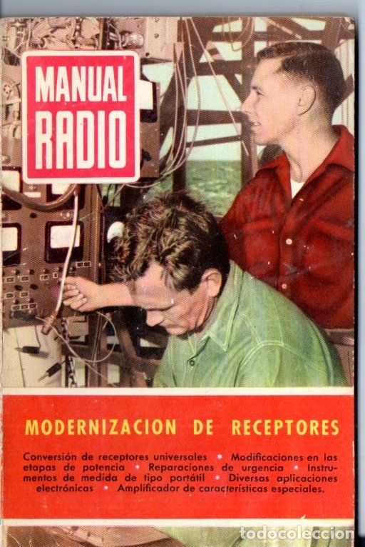 DARKNESS : MANUAL DE RADIO Nº 32 - MODERNIZACIÓN DE RECEPTORES (BRUGUERA, 1955) (Radios, Gramófonos, Grabadoras y Otros - Catálogos, Publicidad y Libros de Radio)
