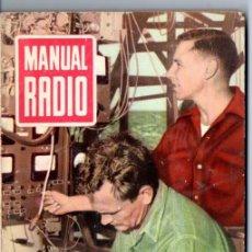 Radios antiguas: DARKNESS : MANUAL DE RADIO Nº 32 - MODERNIZACIÓN DE RECEPTORES (BRUGUERA, 1955). Lote 168019976