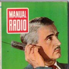 Radios antiguas: DARKNESS : MANUAL DE RADIO Nº 10 - LA VÁLVULA ELECTRÓNICA (BRUGUERA, 1953). Lote 168020056