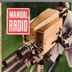 Radios antiguas: DARKNESS : MANUAL DE RADIO Nº 1 - RADIO ACTIVIDAD (BRUGUERA, 1952). Lote 168020176