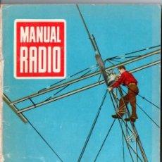 Radios antiguas: DARKNESS : MANUAL DE RADIO Nº 6 - TRANSFORMADORES Y AUTOTRANSFORMADORES (BRUGUERA, 1953). Lote 168020756