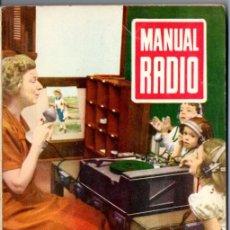 Radios antiguas: DARKNESS : MANUAL DE RADIO Nº 19 - DEMODULACIÓN A CRISTAL Y DIODO (BRUGUERA, 1954). Lote 168020924