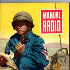 Radios antiguas: DARKNESS : MANUAL DE RADIO Nº 18 - CONDENSADORES VARIABLES (BRUGUERA, 1954). Lote 168021332