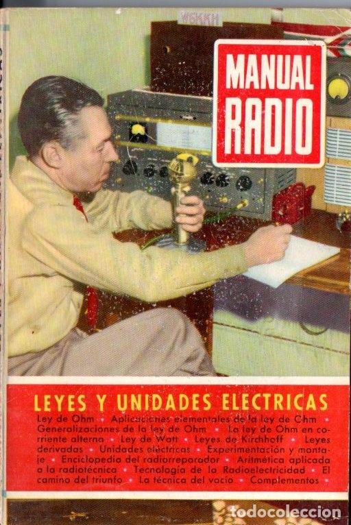 DARKNESS : MANUAL DE RADIO Nº 5 - LEYES Y UNIDADES ELÉCTRICAS (BRUGUERA, 1953) (Radios, Gramófonos, Grabadoras y Otros - Catálogos, Publicidad y Libros de Radio)