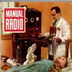 Radios antiguas: DARKNESS : MANUAL DE RADIO Nº 23 - EL SUPERHETERODINO MODERNO (BRUGUERA, 1954). Lote 168021620