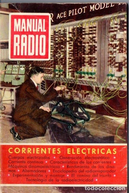 DARKNESS : MANUAL DE RADIO Nº 3 - CORRIENTES ELÉCTRICAS (BRUGUERA, 1953) (Radios, Gramófonos, Grabadoras y Otros - Catálogos, Publicidad y Libros de Radio)