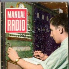 Radios antiguas: DARKNESS : MANUAL DE RADIO Nº 9 - REPRODUCCIÓN SONORA (BRUGUERA, 1953). Lote 168022040
