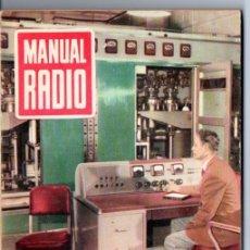 Radios antiguas: DARKNESS : MANUAL DE RADIO Nº 31 - PROBADORES DE VÁLVULAS (BRUGUERA, 1955). Lote 168022124
