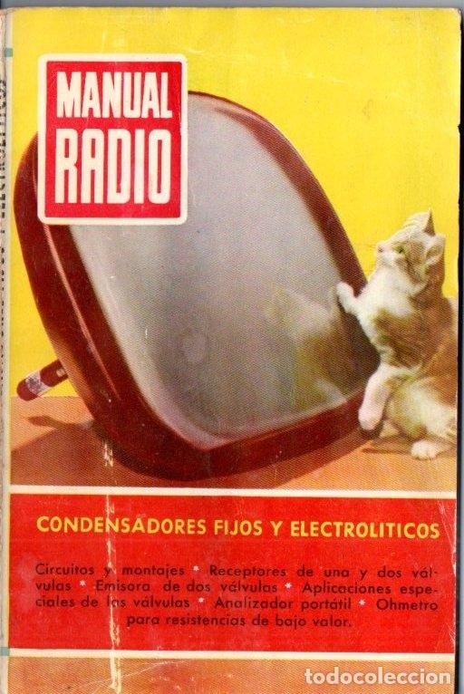 DARKNESS : MANUAL DE RADIO Nº 17 - CONDENSADORES FIJOS Y ELECTROLÍTICOS (BRUGUERA, 1954) (Radios, Gramófonos, Grabadoras y Otros - Catálogos, Publicidad y Libros de Radio)