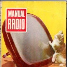 Radios antiguas: DARKNESS : MANUAL DE RADIO Nº 17 - CONDENSADORES FIJOS Y ELECTROLÍTICOS (BRUGUERA, 1954). Lote 168022232