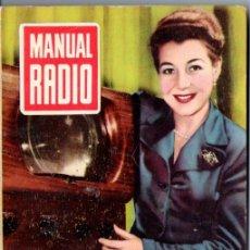 Radios antiguas: DARKNESS : MANUAL DE RADIO Nº 4 - RECTIFICACIÓN DE LA CORRIENTE (BRUGUERA, 1953). Lote 168022288