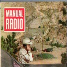 Radios antiguas: DARKNESS : MANUAL DE RADIO Nº 12 - ELEMENTOS GALVÁNICOS (BRUGUERA, 1953). Lote 168022360