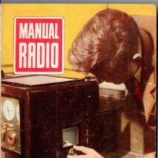 Radios antiguas: DARKNESS : MANUAL DE RADIO Nº 2 - ONDAS ELECTROMAGNÉTICAS (BRUGUERA, 1952). Lote 168022424