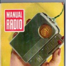 Radios antiguas: DARKNESS : MANUAL DE RADIO Nº 28 - MILIAMPERÍMETROS Y VOLTÍMETROS (BRUGUERA, 1955). Lote 168022604