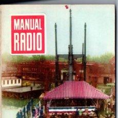 Radios antiguas: DARKNESS : MANUAL DE RADIO Nº 26 - LABORATORIO PROFESIONAL (BRUGUERA, 1954). Lote 168022700