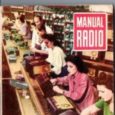 Radios antiguas: DARKNESS : MANUAL DE RADIO Nº 25 - COMPROBACIÓN DE MATERIALES (BRUGUERA, 1954). Lote 168022752