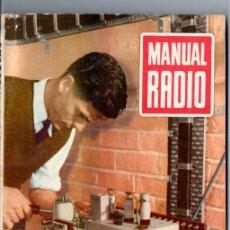 Radios antiguas: DARKNESS : MANUAL DE RADIO Nº 11 - FUNCIONES DE LAS VÁLVULAS (BRUGUERA, 1953). Lote 168022828