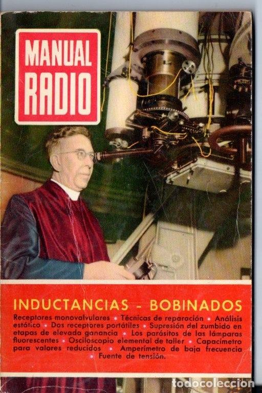 DARKNESS : MANUAL DE RADIO Nº 14 - INDUCTANCIAS, BOBINADOS (BRUGUERA, 1953) (Radios, Gramófonos, Grabadoras y Otros - Catálogos, Publicidad y Libros de Radio)