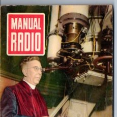 Radios antiguas: DARKNESS : MANUAL DE RADIO Nº 14 - INDUCTANCIAS, BOBINADOS (BRUGUERA, 1953). Lote 168022992