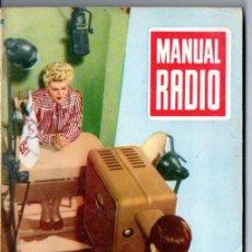 Radios antiguas: DARKNESS : MANUAL DE RADIO Nº 21 - CIRCUITOS FUNDAMENTALES Y DERIVADOS (BRUGUERA, 1954). Lote 168023032