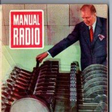 Radios antiguas: DARKNESS : MANUAL DE RADIO Nº 27 - INSTRUMENTOS DE MEDIDA (BRUGUERA, 1955). Lote 168023100