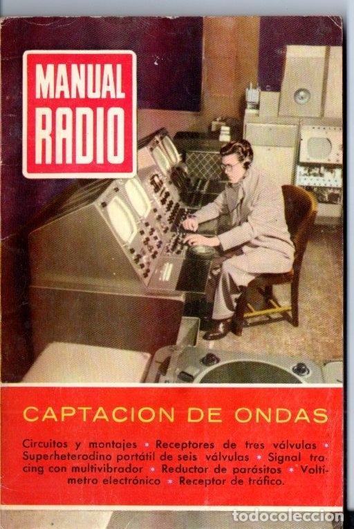 DARKNESS : MANUAL DE RADIO Nº 20 - CAPTACIÓN DE ONDAS (BRUGUERA, 1954) (Radios, Gramófonos, Grabadoras y Otros - Catálogos, Publicidad y Libros de Radio)