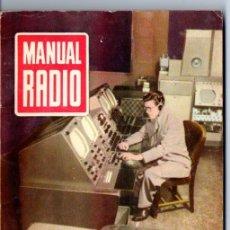 Radios antiguas: DARKNESS : MANUAL DE RADIO Nº 20 - CAPTACIÓN DE ONDAS (BRUGUERA, 1954). Lote 168023144