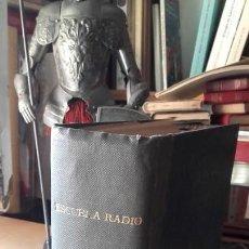 Radios antiguas: CURSO TEORICO DE RADIO POR CORRESPONDENCIA MAYMO. ESCUELA DE RADIO. AÑOS 40 / 50.. Lote 168555528