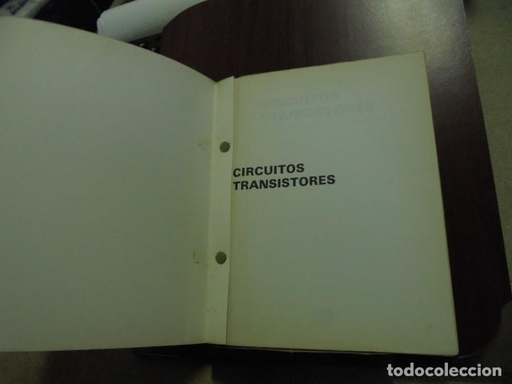 Radios antiguas: CIRCUITOS TRANSISTORES.-AFHA 7ª.-1979 - Foto 2 - 168720092