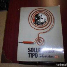 Radios antiguas: AFHA SOLUCIONES TIPO PARA RADIOTECNICOS AFHA INTERNACIONAL 1977.50 SOLUCIONES. Lote 168721004