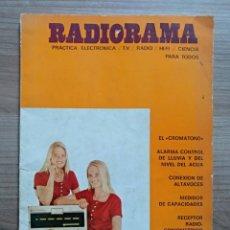 Radios antiguas: ELECTRONICA, LIBRO REVISTA RADIORAMA 1972. Lote 169308332