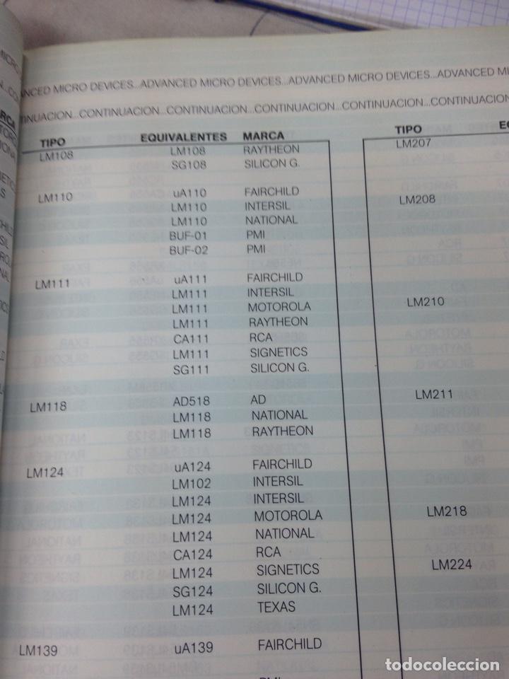 Radios antiguas: Manual de equivalencias de circuitos integrados - Foto 6 - 169572197