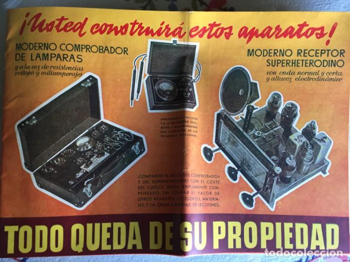 ESCUELA RADIO (Radios, Gramófonos, Grabadoras y Otros - Catálogos, Publicidad y Libros de Radio)