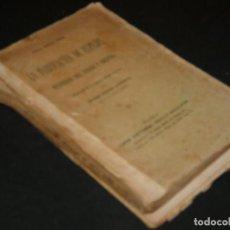 Radios antiguas: LIBRO LA FABRICACION DE ESPEJOS Y DECORADO DEL VDRIO....FALTA UN TROZO DE LOMO ALGO FRAGIL 250 GR. Lote 171665092