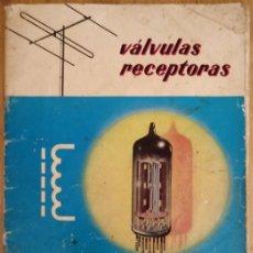 Radios antiguas: VALVULAS RECEPTORAS - MINIWATT - 1966. Lote 172984140
