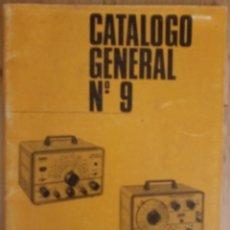 Radios antiguas: CATALOGO GENERAL Nº 9 - RETEXKIT - 1968. Lote 172984895