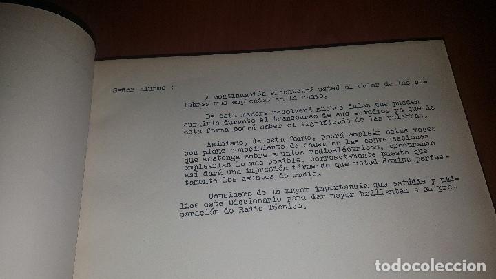Radios antiguas: diccionario de radio + otros cuadernillos, superheterodino, esquemas, etc. En un tomo, inst. Radio - Foto 4 - 173976058