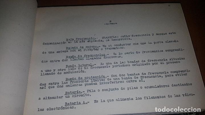 Radios antiguas: diccionario de radio + otros cuadernillos, superheterodino, esquemas, etc. En un tomo, inst. Radio - Foto 5 - 173976058