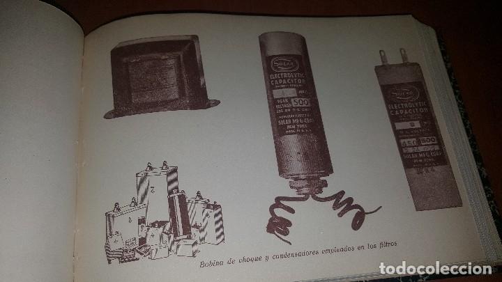 Radios antiguas: diccionario de radio + otros cuadernillos, superheterodino, esquemas, etc. En un tomo, inst. Radio - Foto 8 - 173976058