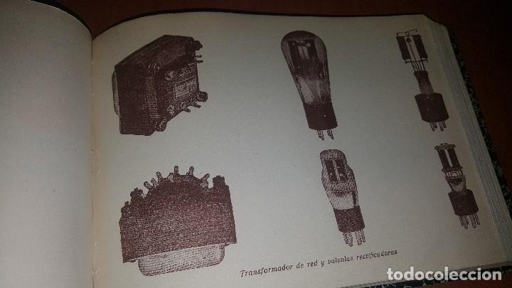 Radios antiguas: diccionario de radio + otros cuadernillos, superheterodino, esquemas, etc. En un tomo, inst. Radio - Foto 9 - 173976058